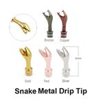 Snake Metal Drip Tip